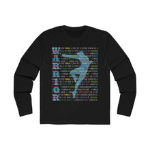 Load image into Gallery viewer, Warrior graphic long sleeves tshirt In euro fit style/ male dancer tshirt