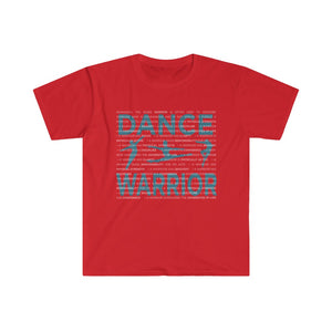 Male Dancer Graphic T-Shirt - DANCE WARRIOR\Male Softstyle Eurofit Tee