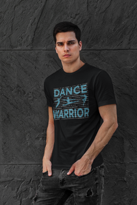 Male dancer graphic t-shirt - DANCE WARRIOR \ male softstyle eurofit tee