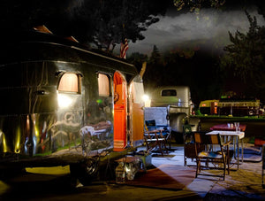 Airstream with Thunder