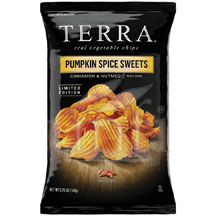 Terra Chips Exotic Vegetable Pumpkin Spice Sweets Chips