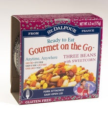 St DALFOUR French Bistro (Gourmet on the Go) Three Beans with Sweetcorn  6/6.2 OZ