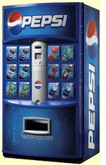 Vending Machines: Vendo (Pepsi front) V721 Cold Beverage