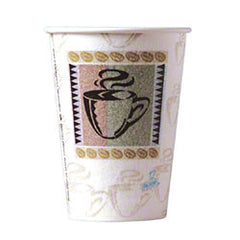 Dixie® PerfecTouch™ Paper Hot Cup -12 oz., Coffee ITEM # JRV-5342CD
