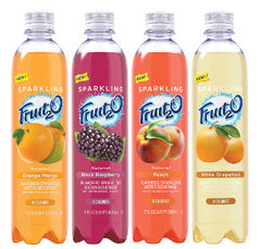 Fruit2O  Sparkling water (all flavors) 12/17oz