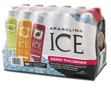ICE Flavored Spakling Water FRUIT (all)  Pack , PET - 18/ 17oz