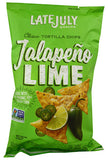 Late July Tortilla Chips Jalapeno LIME