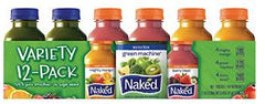 Naked Juice  ALL Flavors 10 oz & 15.2 oz