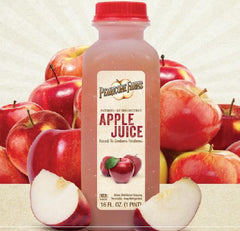 Perricone Pasteurized Apple Juice 16oz