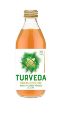 TURVEDA Sparkling Turmeric Tonic Wild Honey + Matcha 12/10 oz (295ML)