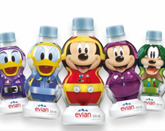 Evian Water Disney 24/10.48oz