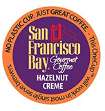 San Francisco Bay Hazelnut Creme K-Cup