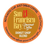 San Francisco Bay Donut Shop Blend (40) K-Cups