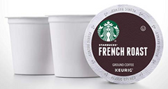 STARBUCKS French Roast Dark Roast (24) K-Cups