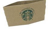 Starbucks Sleeves  set of (25)