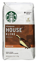 Starbucks  Starbucks House Blend Whole Bean Coffee, 40oz bag