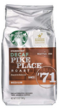 Starbucks Decaf Pike Place Roast, Ground bag, 12oz