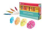 KingSeal 4 Inch Umbrella Parasol Cocktail Picks (144)