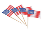 American Flag Toothpicks, 2.5 Inch (288)