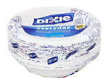 Dixie Everyday Disposable Paper Bowls, 10 oz, (42)