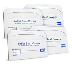 Paper Toilet Seat Covers - Disposable (4)
