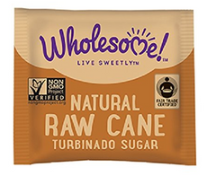 Wholesome Sweeteners Organic Turbinado Raw Cane Sugar Packets (500)