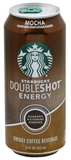 Starbucks Doubleshot Mocha Energy Coffee Beverage 15 Fl. Oz.