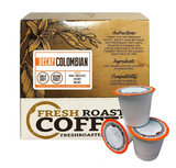 Fresh Roasted Coffee Colombian Decaf Coffee Pods (18)
