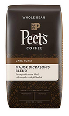 Peet's Expect More Coffee Whole Bean Major Dickason's, 2 lbs