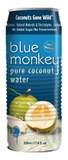 Blue Monkey Pure Coconut Water No Pulp 24/17.6 oz