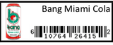Bang Miami Cola 12/16oz