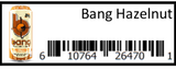 Bang Hazelnut 12/16oz