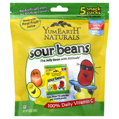 YUMEARTH  Natural Sour Jelly Beans, 5 Count