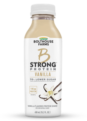 Bolthouse B STRONG VANILLA Protein  (450 ML) 15.2 OZ  6/case