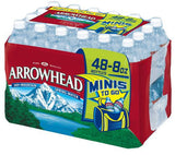 Arrowhead Water Still PET   Case 48 / 8 oz