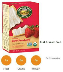 Nature's Path Strawberry Toasted Pastries (Frosted) - 12/11oz