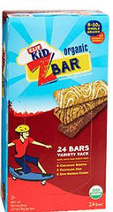 Clif Kid Organic Z Bar, Variety 24/1.27 oz