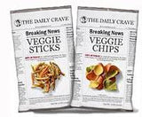 The Daily Crave Veggie Chips  Case of  / 1.25oz