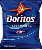 Doritos Cool Ranch Reduced Fat Whole Grain  72/1 oz Fit pick