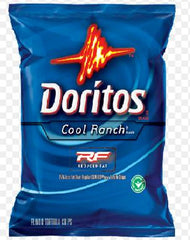 Doritos Cool Ranch Reduced Fat 72/1 oz