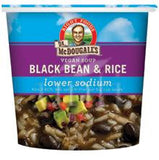 Dr. McDougall's Black Bean and Rice Soup in a Cup
