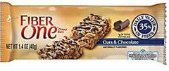 Fiber One Oats  & Chocolate Bar 16/1.4 oz