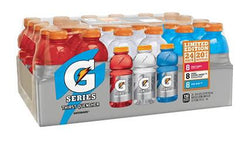 Gatorade Variety Pack Glacier Cherry, Fruit Punch, Cool Blue  24/ 20z