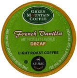 Green Mountain Coffee French Vanilla Decaf, Light Roast (K-Cup) 24-Ct