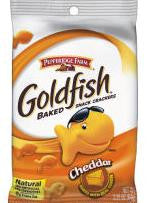 Pepperidge Farm GoldFish Baked Cheddar Snack Crackers, 24/1.5 oz
