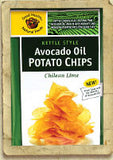 Good Health - Avocado Oil Potato Chips -  Chilean Lime 1.25oz/24