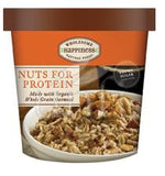 Wholesome Happiness Oatmeal Cups Hot Cereal  + Nuts 70% Organic