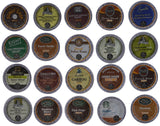 Keurig Decaf Coffee Sampler K-Cups decafs starbucks, green mountain, donut shop, tully's, caribou, van houtte   from Custom Variety Pack
