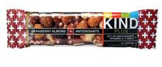 Kind Plus Fruit & Nut Nutrition Bars Cranberry & Almond - 12/1.4 oz