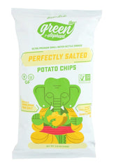 Lesser Evil Kettle Chips Green Elephant Perfectly Salted 24/1.5oz